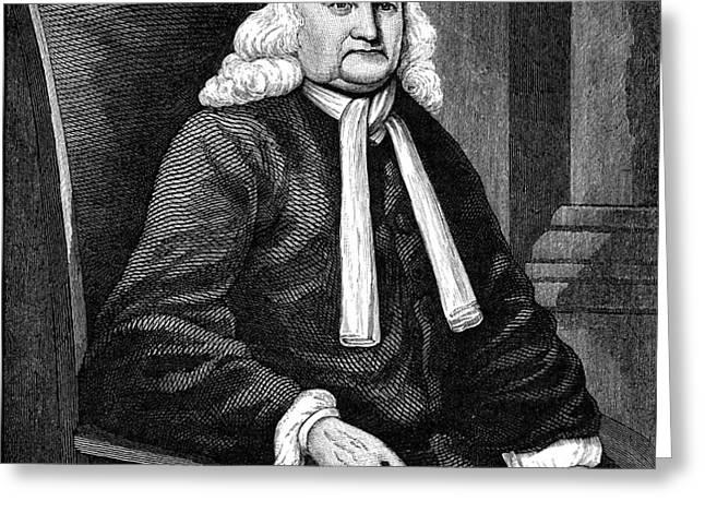 SAMUEL SEWALL (1652-1730) Greeting Card by Granger