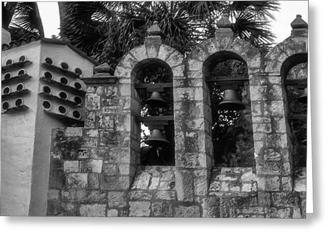 Entrance Door Greeting Cards - San Antonio Missions Greeting Card by Kelly Rader