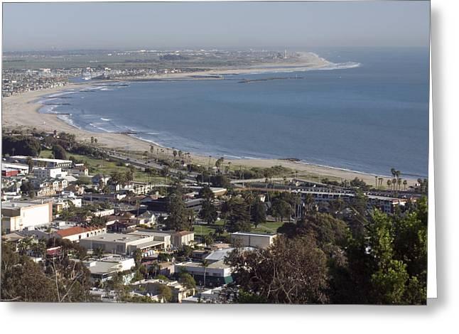San Buenaventura State Beach Greeting Card by Rich Reid