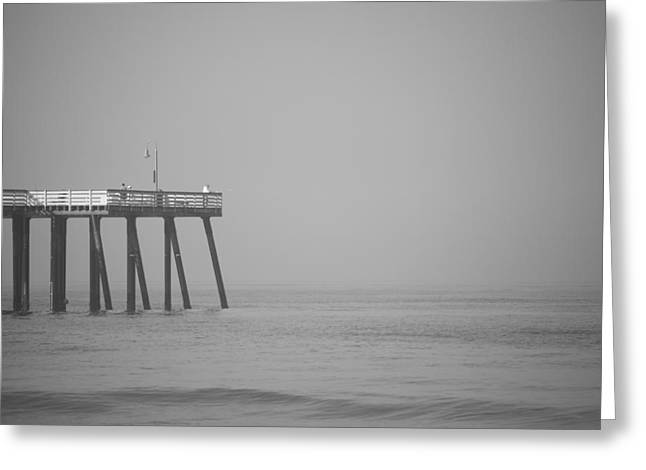 San Clemente Pier Greeting Cards - San Clemente Pier Greeting Card by Ralf Kaiser