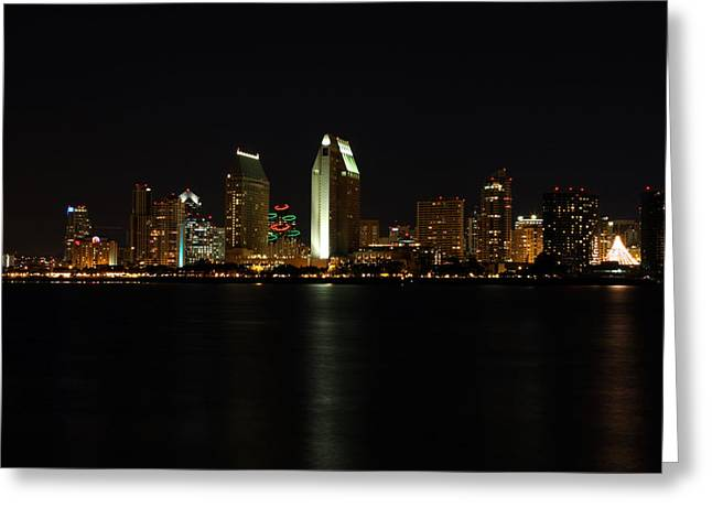 Hyatt Hotel Greeting Cards - San Diego Greeting Card by Steve Parr