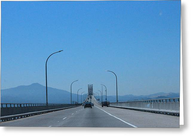 San Rafael Bridge Greeting Cards - San Francisco Collection #1 Greeting Card by Raquel Amaral