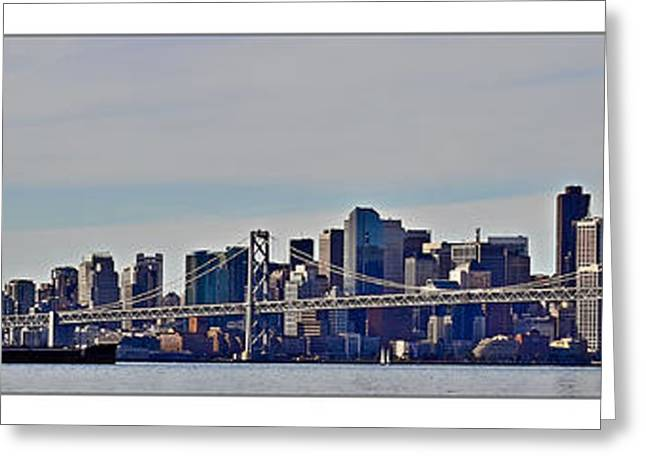 Kim Photographs Greeting Cards - San Francisco Greeting Card by Kimberly Farrell
