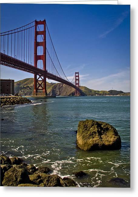 Sausalito Greeting Cards - San Francisco Greeting Card by Niels Nielsen