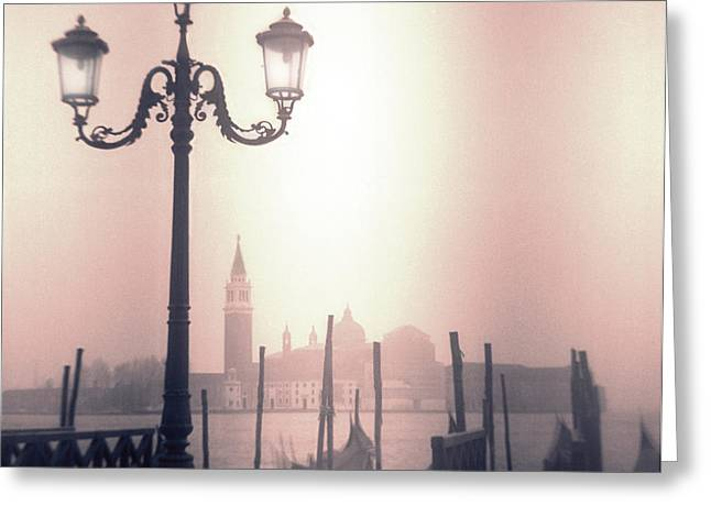 San Giorgio Maggiore Seen From Venice  Greeting Card by Janeen Wassink Searles