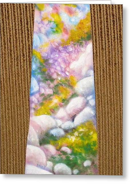 Spring Tapestries - Textiles Greeting Cards - San Jacinto Spring Greeting Card by David Kelly
