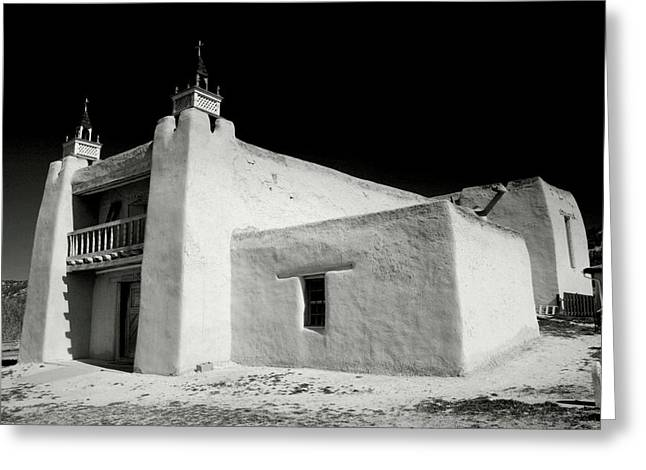Religious Framed Prints Greeting Cards - San Jose de Gracia Church Greeting Card by Steven Ainsworth