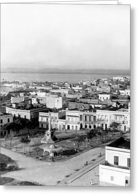 San Juan - Puerto Rico - C 1900 Greeting Card by International  Images