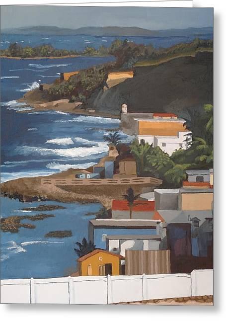 San Juan Greeting Card by Alexander Buck