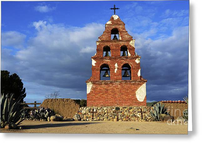 San Miguel California Greeting Card by Bob Christopher