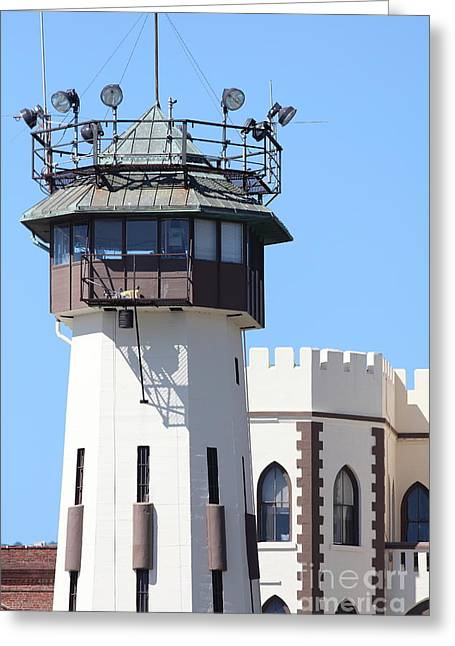 San Quentin State Prison In California - 5d18466 Greeting Card by Wingsdomain Art and Photography