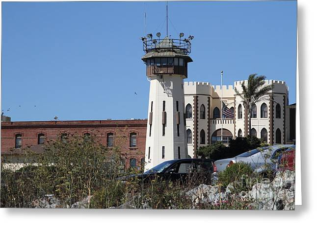 San Quentin State Prison In California - 7d18542 Greeting Card by Wingsdomain Art and Photography