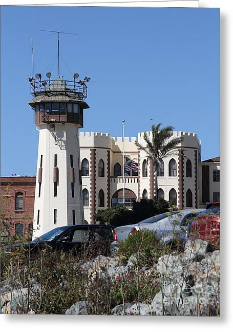 San Quentin State Prison In California - 7d18543 Greeting Card by Wingsdomain Art and Photography