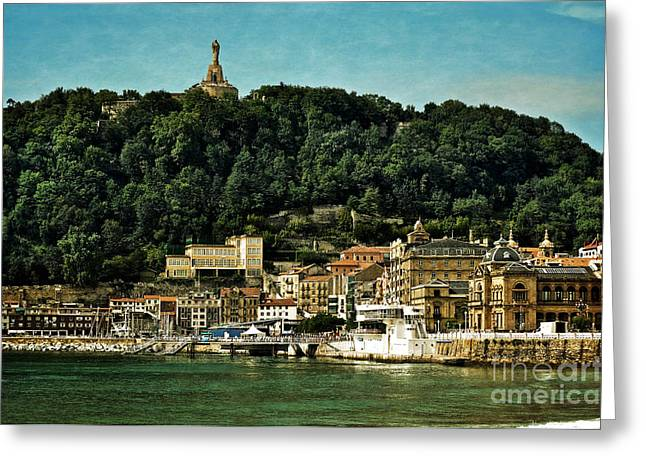 Hdr Effects Greeting Cards - San Sebastian Spain Greeting Card by Mary Machare
