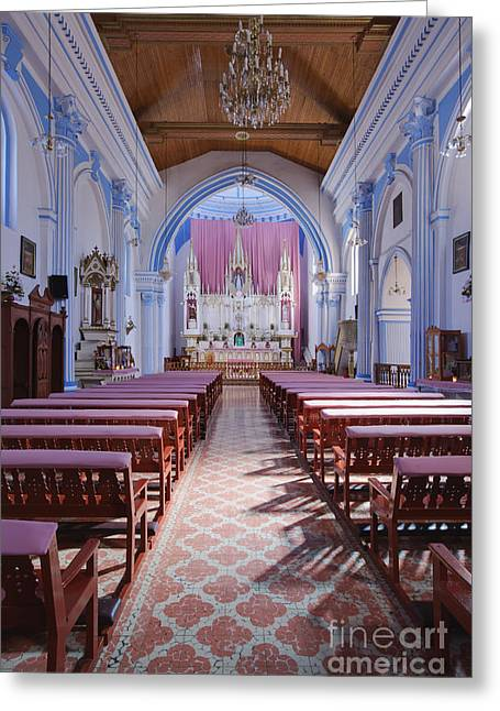 Bals Greeting Cards - Sanctuary of the Church of Santa Lucía Greeting Card by Jeremy Woodhouse