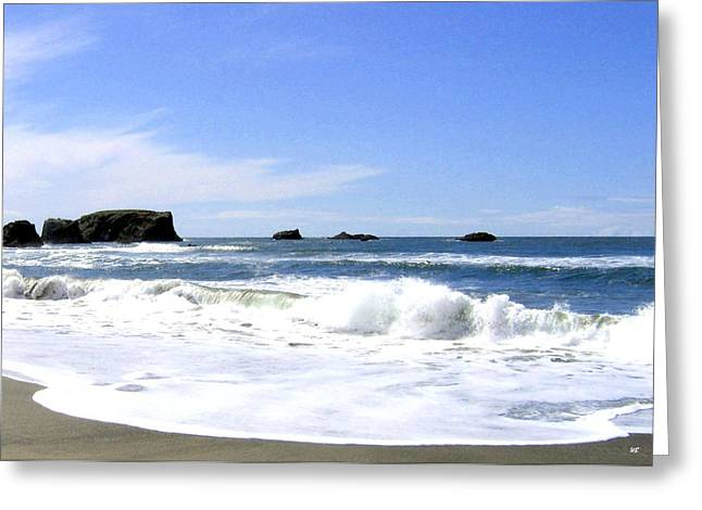 Sand And Sea Greeting Cards - Sand And Sea 10 Greeting Card by Will Borden