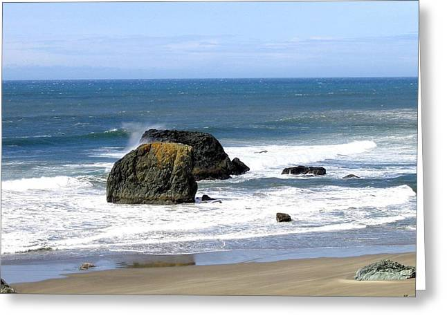 Sand And Sea Greeting Cards - Sand And Sea 19 Greeting Card by Will Borden
