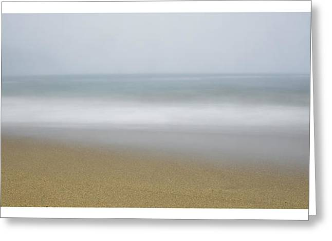 Maine Beach Greeting Cards - sand beach in Maine Greeting Card by Chad Tracy