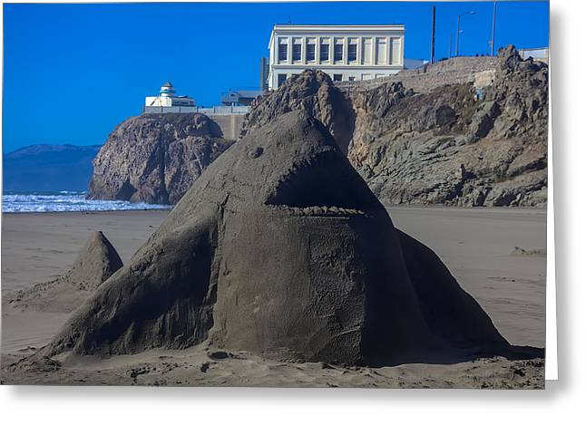 Pacific Islands Greeting Cards - Sand shark at Cliff House Greeting Card by Garry Gay