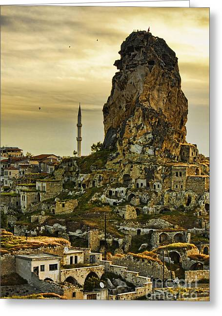 Ortahisar Greeting Cards - Sandcastles Greeting Card by Andrew Paranavitana