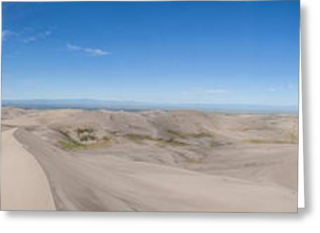Great Sand Dunes National Preserve Greeting Cards - Sangres and Sands Greeting Card by Scotts Scapes