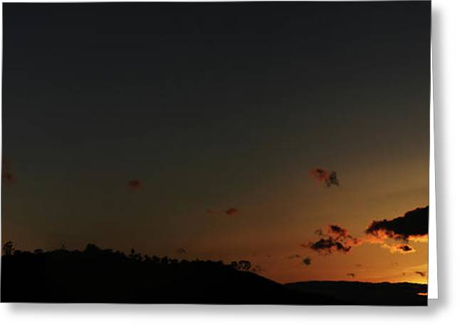 Pastimes Greeting Cards - Santa Barbara Sunset Greeting Card by Vinnie Finn