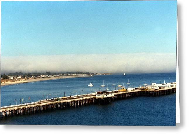 Best Sellers -  - Santa Cruz Pier Greeting Cards - Santa Cruz.... Greeting Card by Tanya Tanski