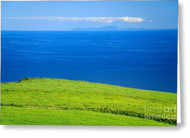 Lush Colors Greeting Cards - Santa Maria and Sao Miguel Greeting Card by Gaspar Avila