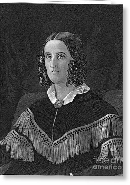 America First Party Greeting Cards - Sarah Childress Polk Greeting Card by Granger