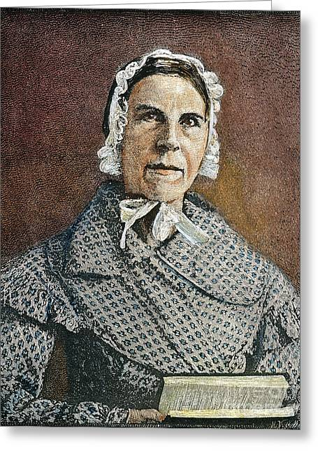 Abolition Movement Photographs Greeting Cards - Sarah Moore Grimke Greeting Card by Granger