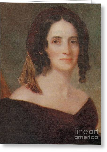 First-lady Greeting Cards - Sarah Polk Greeting Card by Photo Researchers