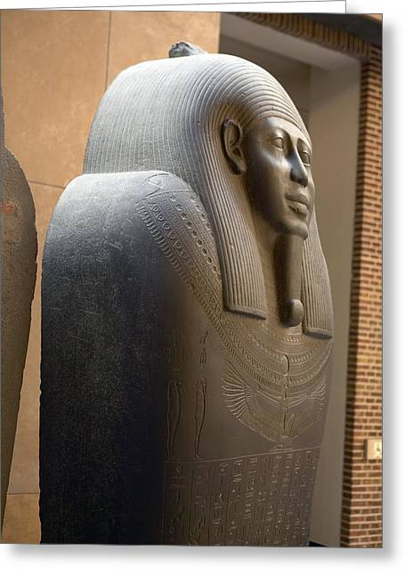 Egyptian Sarcophagus Greeting Cards - Sarcophagus Of Ahmes Greeting Card by Colin Cuthbert