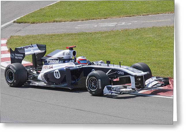 Sauber Greeting Cards - Sauber Greeting Card by Art Ferrier