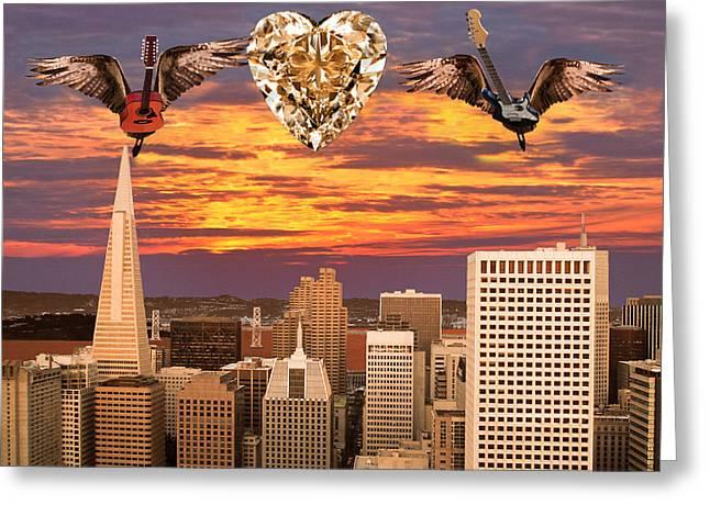 Eric Kempson Greeting Cards - Saving All My Love For You Greeting Card by Eric Kempson
