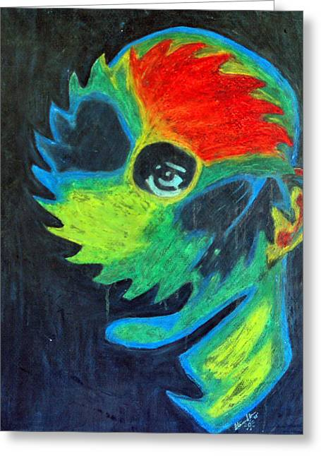 Saw Pastels Greeting Cards - See Saw Greeting Card by Steven Sloan