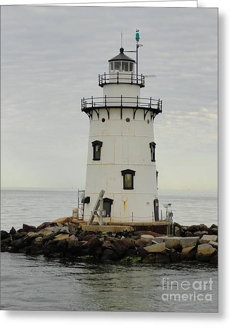 Saybrook Greeting Cards - Saybrook outer light Greeting Card by Meandering Photography