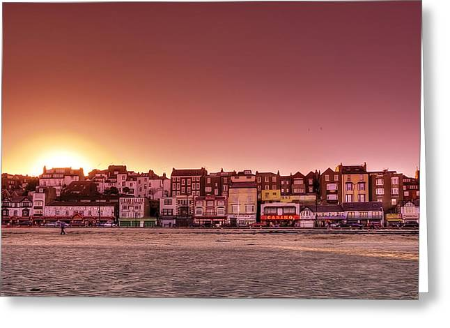 Scarborough Greeting Cards - Scarborough Greeting Card by Svetlana Sewell