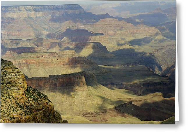 Arizona Framed Prints Greeting Cards - Scenic Grand Canyon 1 Greeting Card by M K  Miller