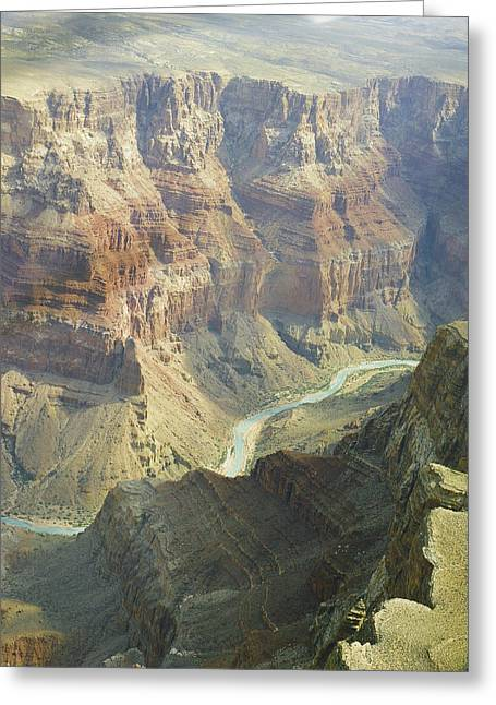 Arizona Framed Prints Greeting Cards - Scenic Grand Canyon 4 Greeting Card by M K  Miller