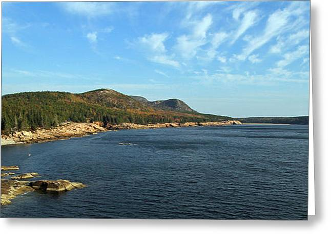 New England Ocean Greeting Cards - Scenic Seacoast of Acadia National Park Greeting Card by Juergen Roth