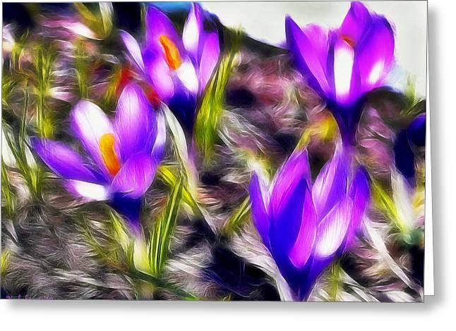Buket Greeting Cards - Scent of spring Greeting Card by Desislava Kulelieva