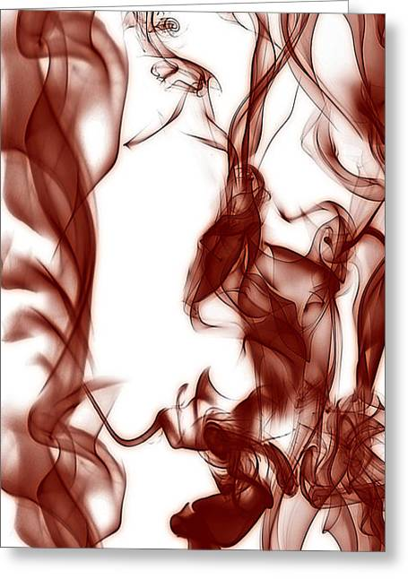 Bruster Greeting Cards - Schizophrenia Greeting Card by Clayton Bruster