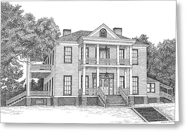 Schluter House in Jefferson Texas Greeting Card by Mickie Moore