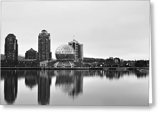 Telus Greeting Cards - Science World Greeting Card by Marion McCristall