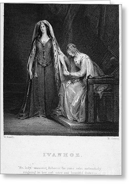 Scott: Ivanhoe, 1832 Greeting Card by Granger