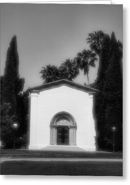 Claremont Greeting Cards - Scripps College Auditorium Greeting Card by Steven Ainsworth