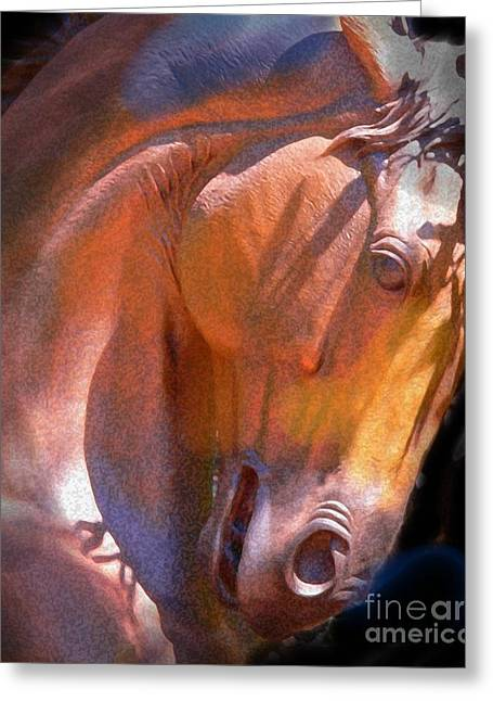 Sedona Greeting Cards - Sculpture Greeting Card by Robert Hooper