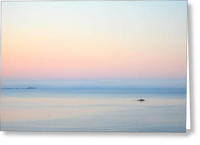 Sea fog Greeting Card by Sonya Kanelstrand