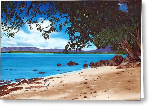 Sharon Ebert Greeting Cards - Sea Krait with Chilis Greeting Card by Sharon Ebert