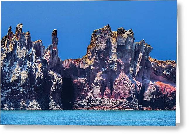 Sea Of Cortez Greeting Cards - Sea of Cortez Island Greeting Card by Russ Harris